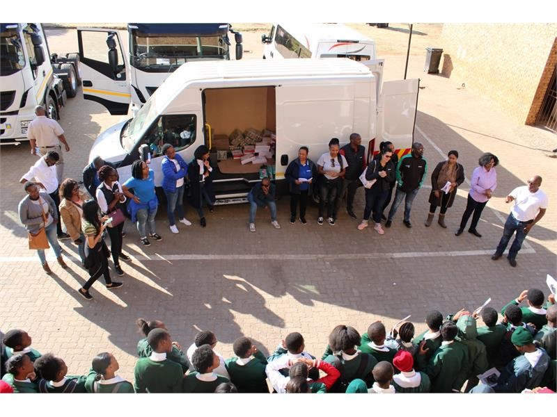 IVECO South Africa commemorates Mandela Day