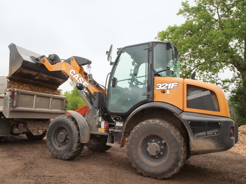 CASE Upgrades F Series Compact Wheel Loaders with Electro-hydraulic Controls