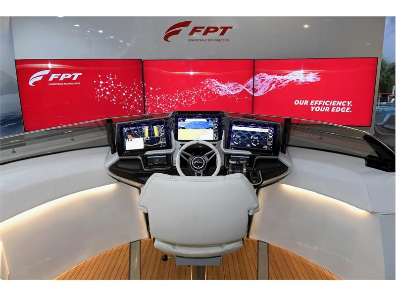 FPT INDUSTRIAL PRESENTS RED HORIZON, A PREMIUM INTEGRATED MARINE CONTROL SYSTEM DESIGNED FOR NEW ADVENTURES
