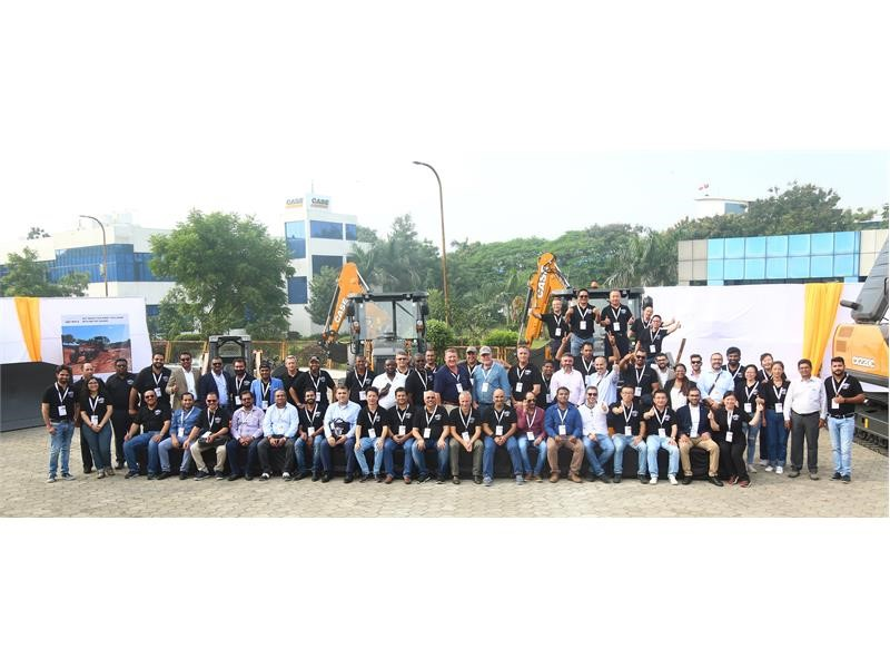 CASE Construction Equipment showcases Made in India strengths
