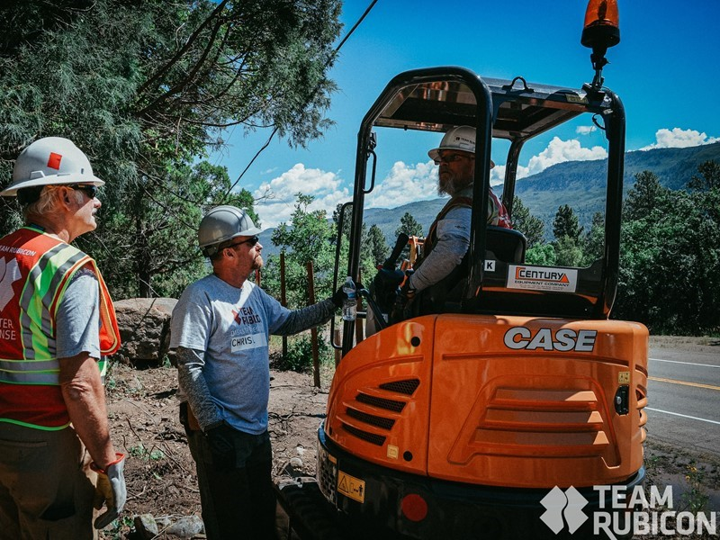 CASE Dealer Century Equipment Provides Team Rubicon With Compact Track Loader and Mini Excavator to Assist in Colorado Flood Response