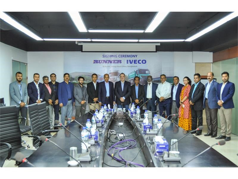 A new distributor for IVECO in Bangladesh