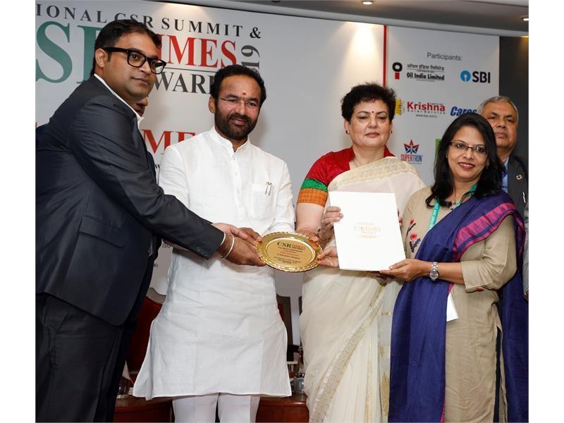 CNH Industrial initiative wins CSR Times Award in India