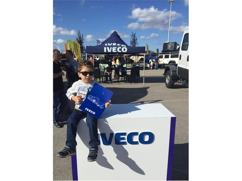 IVECO takes part in V Weekend Motoring Event and offers Daily Hi-Matic test drive