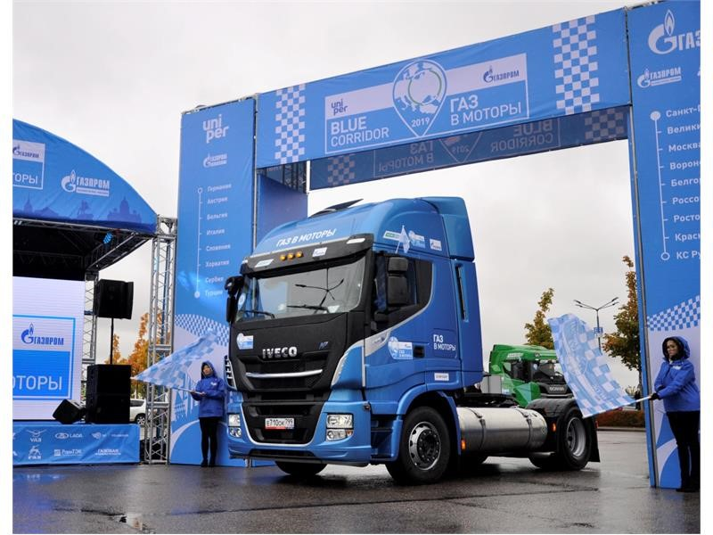 IVECO completes International Blue Corridor Rally and participates in International Gas Forum