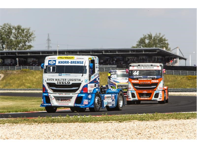 IVECO claims victory at the FIA European Truck Racing Championship 2019 – taking home both the Team and Drivers' Championship titles