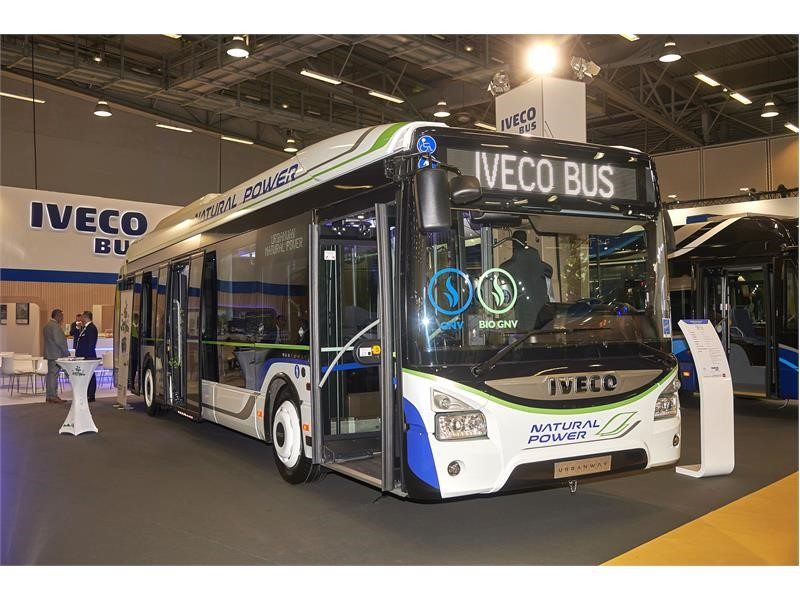 IVECO BUS wins record order to supply 409 natural gas buses to Paris, France