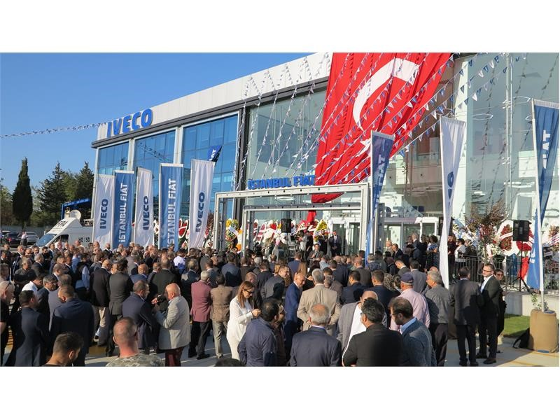 IVECO inaugurates its biggest state-of-the-art dealer premises in Istanbul
