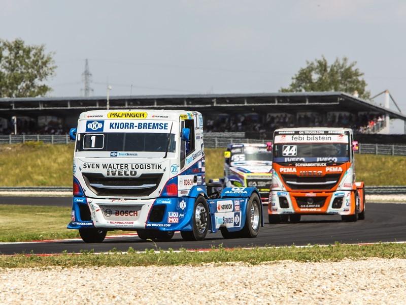 IVECO — абсолютный победитель Чемпионата Европы по гонкам на грузовиках (FIA)