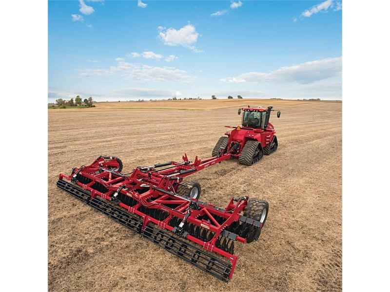 Case IH Expands Tillage Lineup With Speed-Tiller High-speed Disk