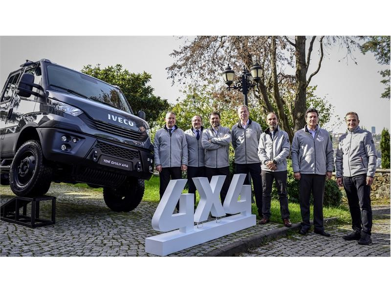 IVECO launches new Daily 4x4 full line up of go-anywhere vehicles