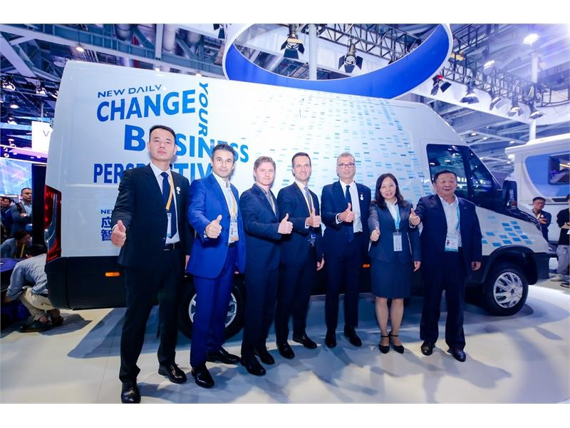 IVECO launches the New Daily and showcases intelligent customization at CIIE 2019