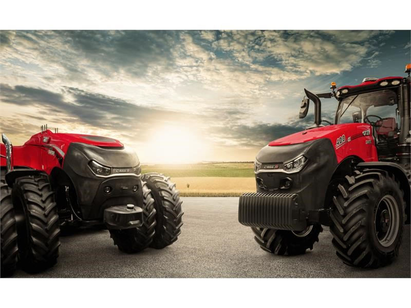 Case IH focuses on top-end technology with tractor, harvesting and connectivity developments at Agritechnica