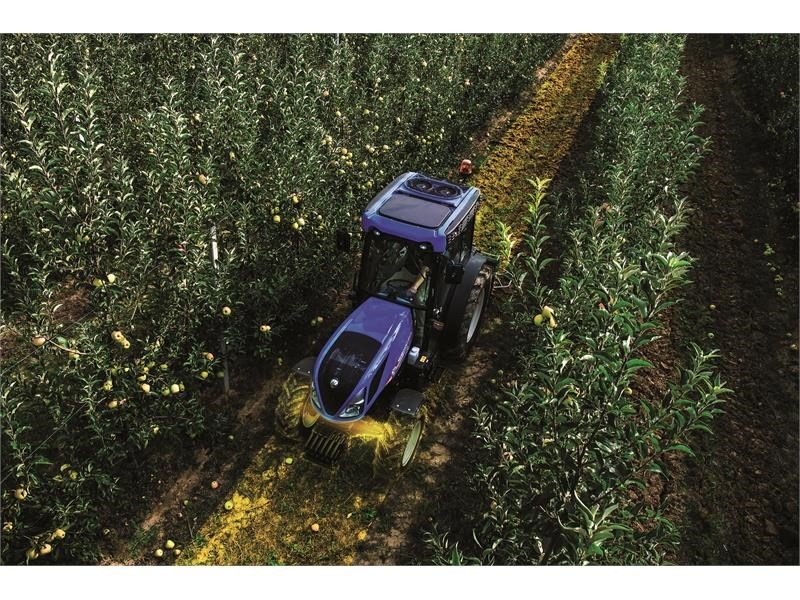 New Holland launches new front suspended axle on Specialty Tractors range T4 V/N/F
