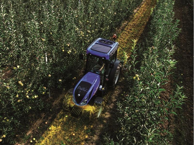 Бренд New Holland представляет новую переднюю подвесную ось на тракторах специальной серии T4 V / N / F