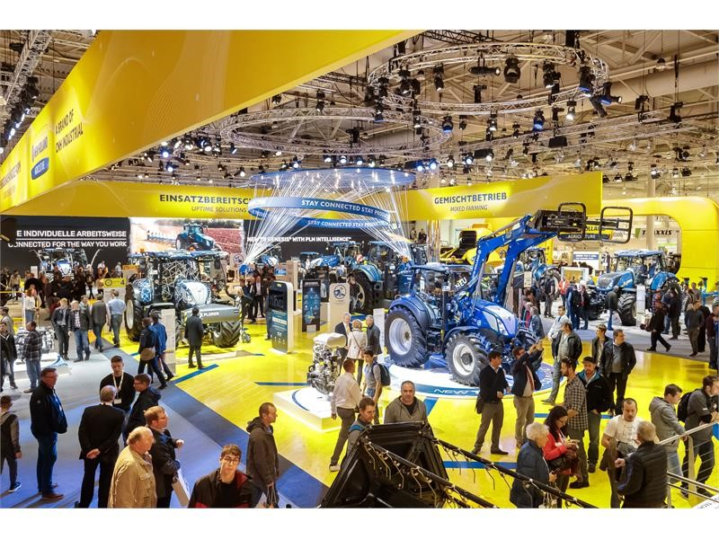 New Holland Agriculture's highlights at Agritechnica 2019