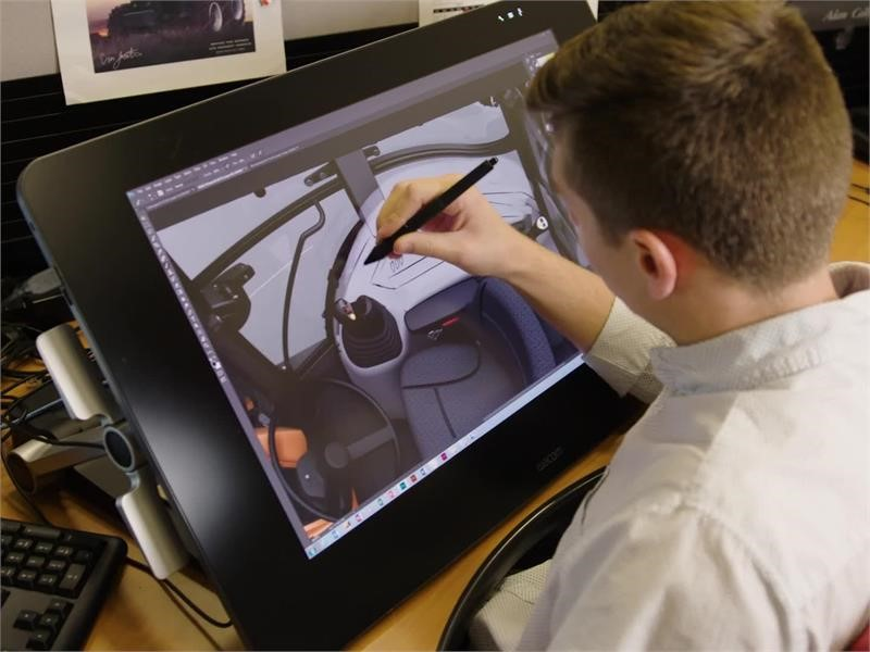 Behind the Wheel: CNH Industrial teams up with ArtCenter College of Design to reimagine construction equipment