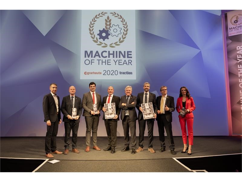 CNH Industrial agricultural brands win 'Machine of the Year' titles at Agritechnica 2019