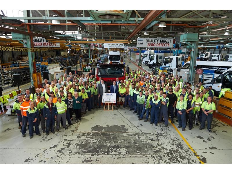 Final Euro 5 ACCO leaves IVECO production line – new Euro 6 ACCO coming soon
