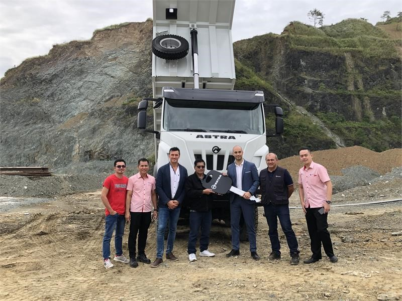 IVECO delivers six Astra HHD9 trucks to Premium Megastructures in the Philippines