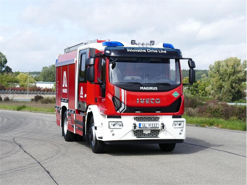 FPT INDUSTRIAL EQUIPS THE WORLD'S FIRST GAS-POWERED FIREFIGHTING VEHICLE