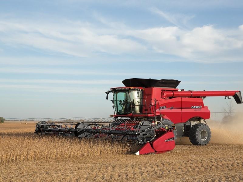 Сельскохозяйственная техника Case IH и New Holland Agriculture на выставке «ЮГАГРО 2019»
