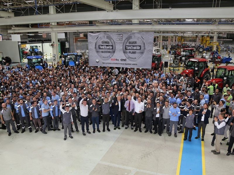 CNH Industrial Joint-Venture plant in Erenler, Turkey, achieves Silver Level designation in World Class Manufacturing