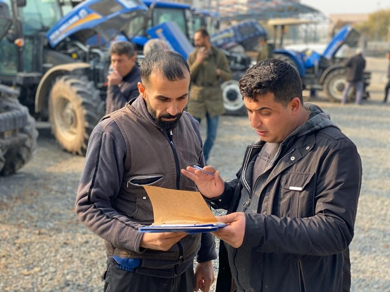 New Holland Agriculture provides maintenance service to thousands of tractors in Turkey