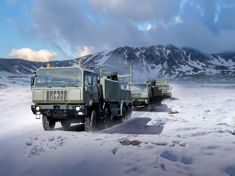 Iveco Defence Vehicles to supply the Romanian Armed Forces with 942 trucks, first batch of a frame contract worth 2900 vehicles