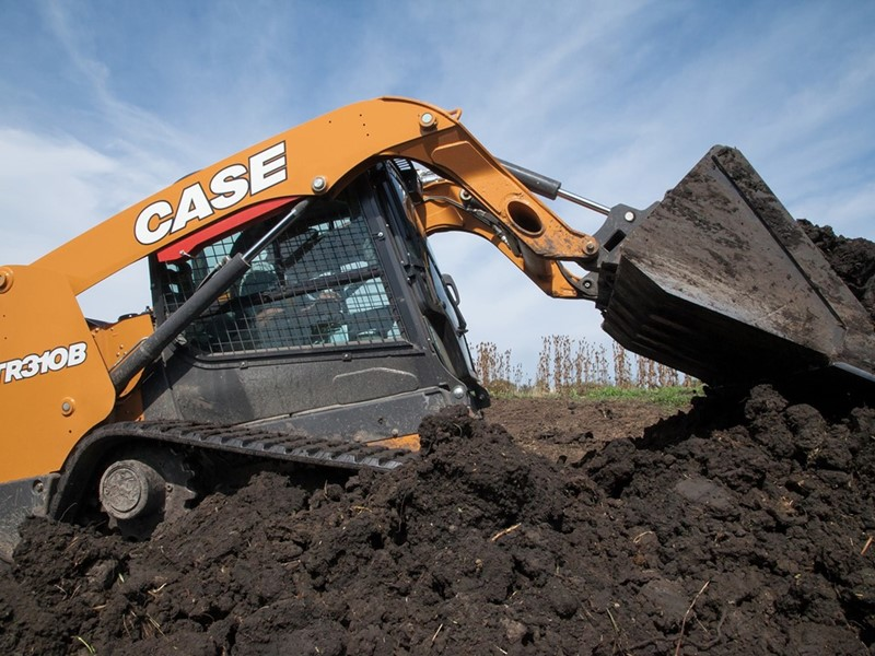 CASE Launches All-New B Series Compact Track Loaders and Skid Steers