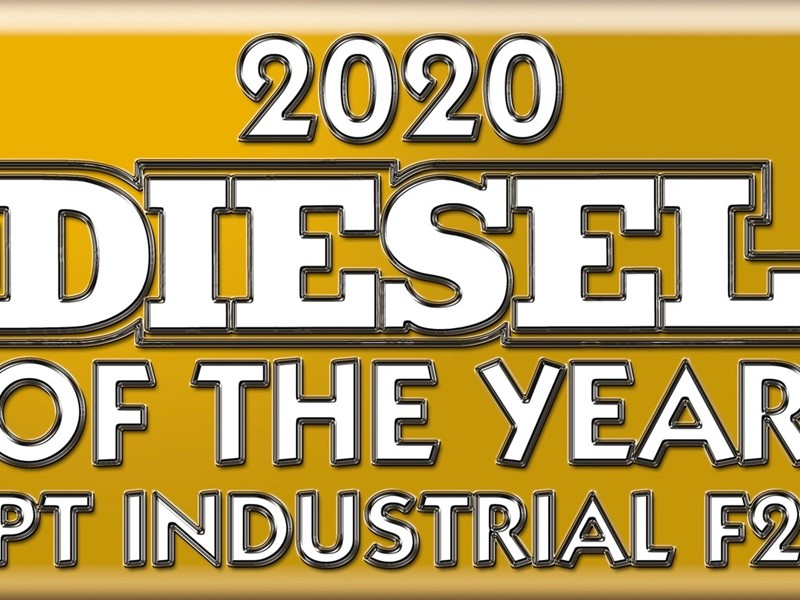 """FPT INDUSTRIAL F28 ENGINE AWARDED """"DIESEL OF THE YEAR®"""""""