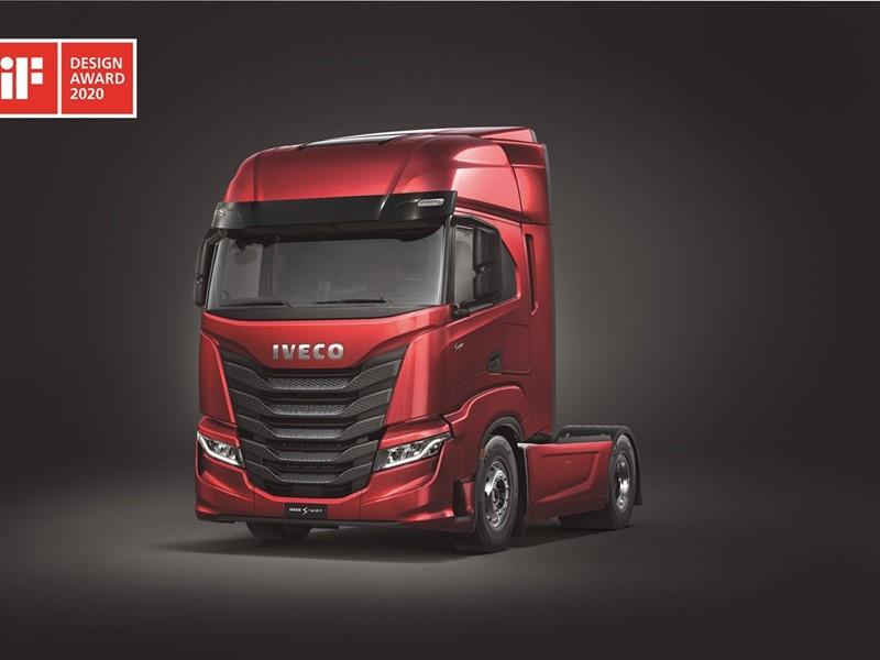 IVECO wins prestigious iF DESIGN AWARD 2020 for the IVECO S-Way heavy duty truck