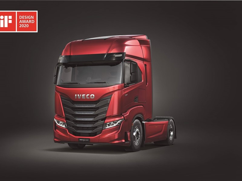 IVECO wins prestigious iF DESIGN AWARD 2020 for the IVECO S-Way heavy duty truck