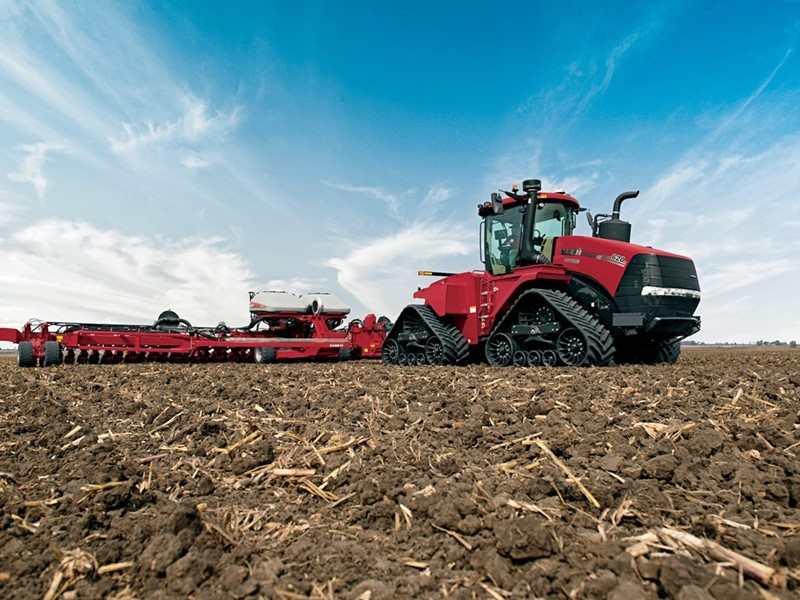 Case IH Launches New AFS Connect Steiger Series Tractors
