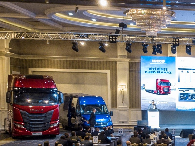IVECO presents its new light and heavy ranges to the Turkish market at a press event in Antalya