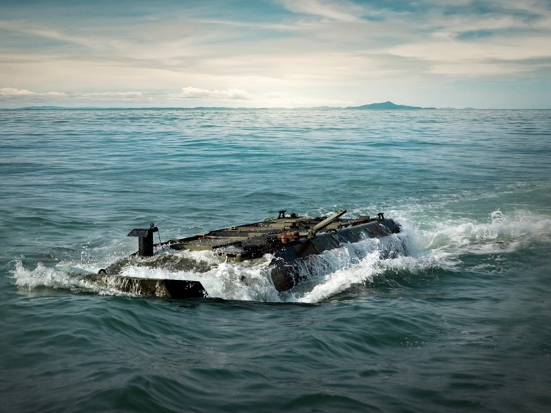 Iveco Defence Vehicles to deliver an additional 26 amphibious platforms to the U.S. Marine Corps in partnership with BAE Systems