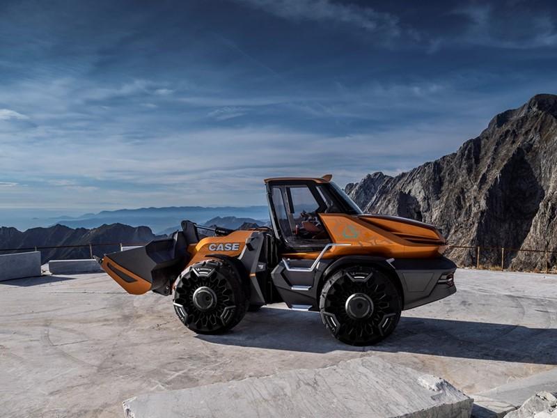 凯斯工程机械发布甲烷动力概念轮式装载机TETRA 展示其对工程机械可持续发展未来的愿景