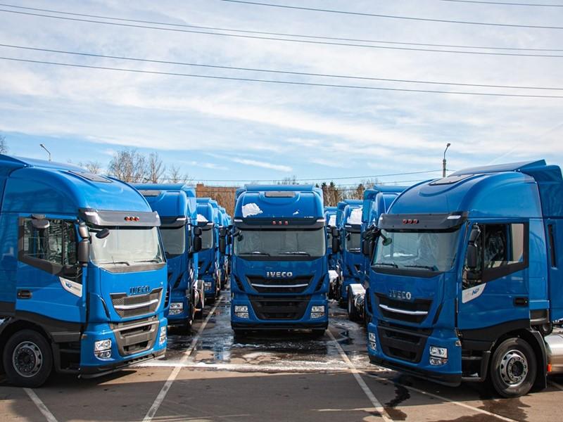 Компания IVECO осуществила поставку 50-ти грузовиков IVECO Stralis NP 460 на сжиженном природном газе российскому перевозчику «Автомобильная компан...