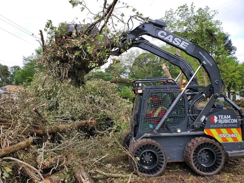 Diamond Equipment Supports Team Rubicon Tornado Cleanup In Tennessee