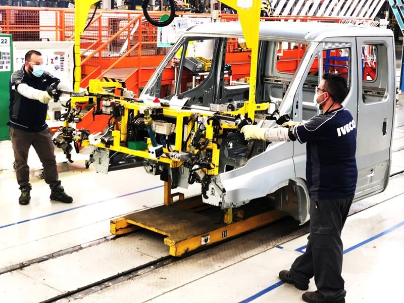 IVECO announces restart of production at its plants in Italy and Spain