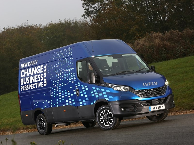 IVECO Daily wins prestigious Trade Van Driver Award 2020