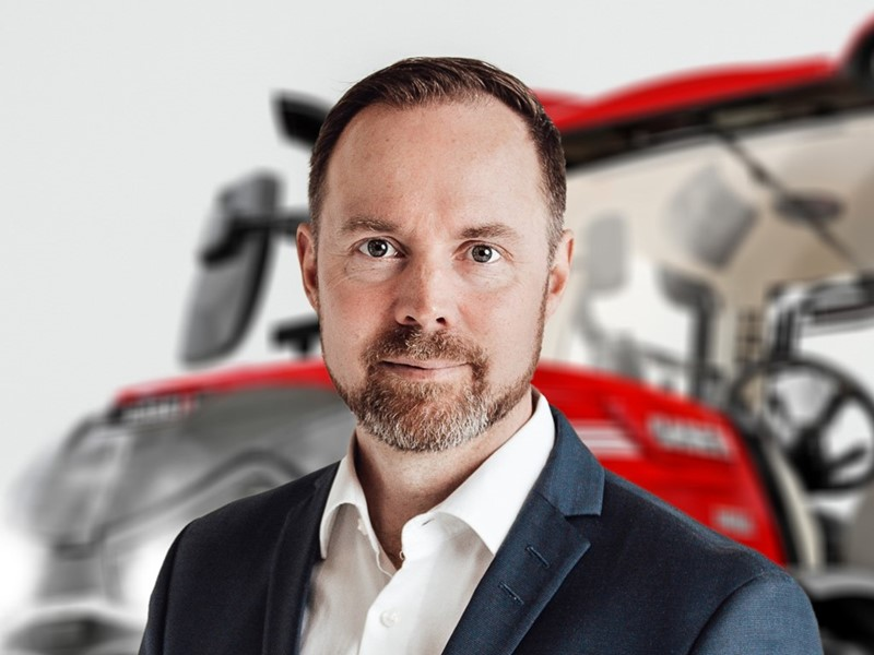 Case IH appoints new Vice President for Europe