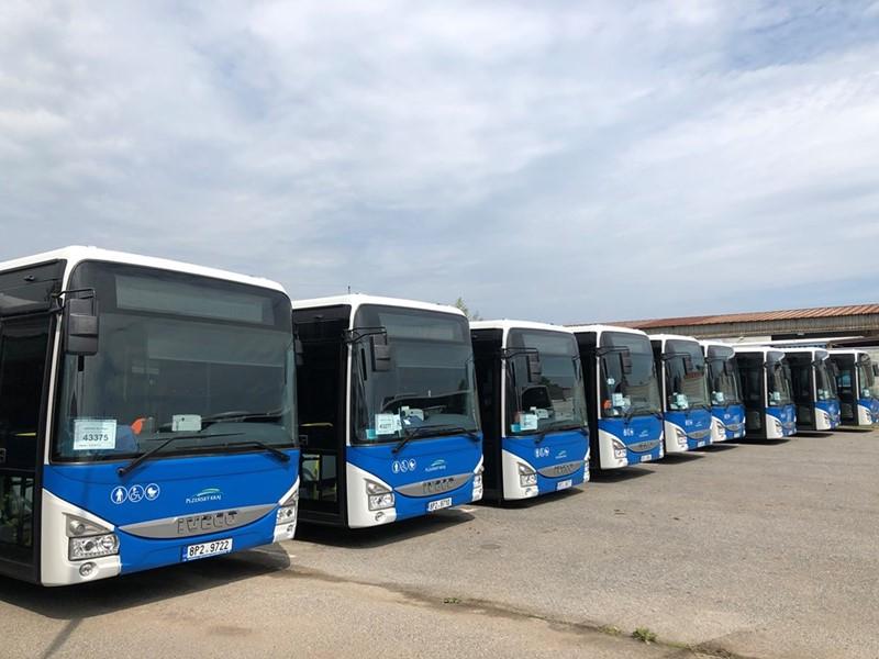 依维柯客车145辆Crossway 低入口公交车交付捷克ARRIVA公司