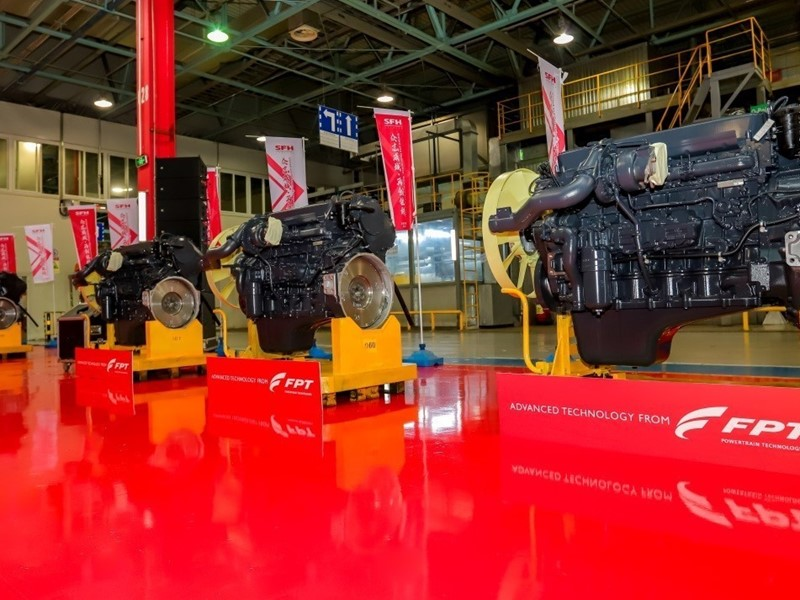 SFH - FPT INDUSTRIAL'S JOINT VENTURE IN CHINA - SETS ENGINE PRODUCTION RECORD