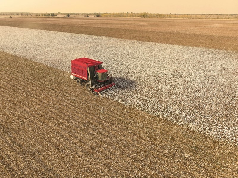 CNH Industrial brands delivering over 360 units to Uzbekistan to support cotton harvest