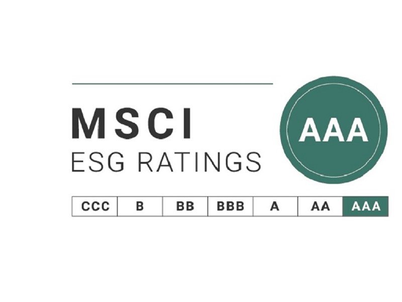 CNH Industrial received a 2020 MSCI ESG Rating of AAA for the seventh consecutive year and is included in MSCI ESG Leaders Indexes