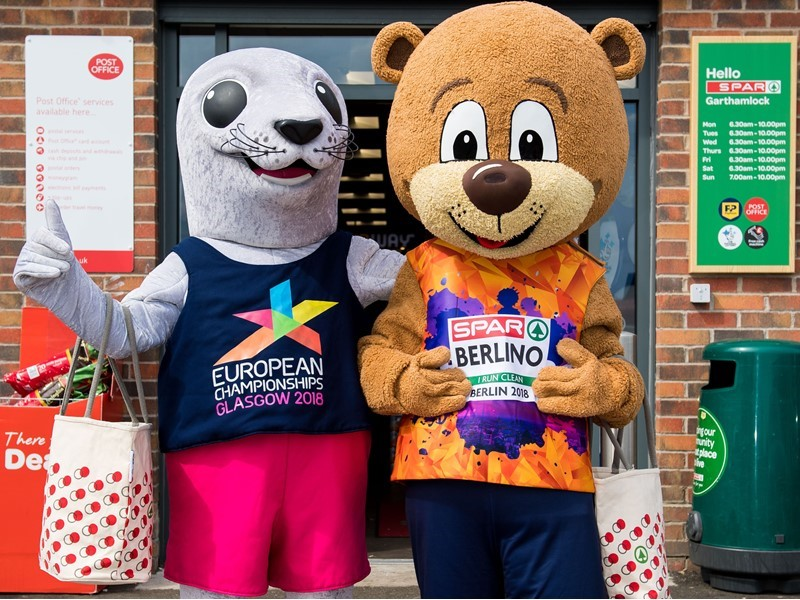 SPAR announced as an Official Partner of Glasgow 2018 European Championships