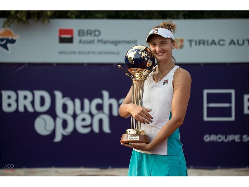 FILA Tennis Athlete Irina Begu Wins Singles & Doubles Titles at Bucharest Open