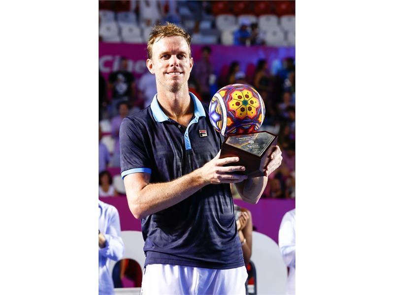 FILA Tennis Athlete Sam Querrey Wins Los Cabos Title