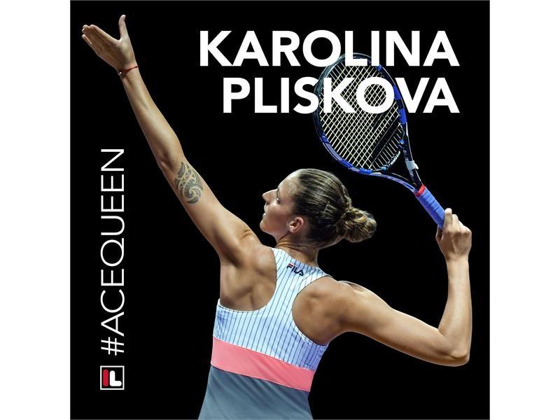 FILA Sponsored Tennis Player Karolina Pliskova is the WTA's 2017 #AceQueen